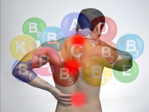 Витамины при остеохондрозе: польза, виды и побочные действия
