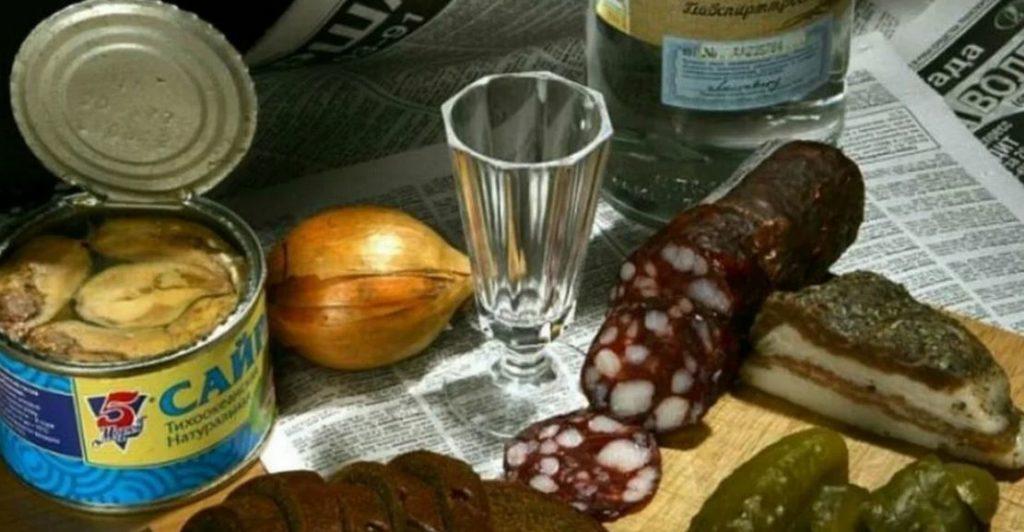 Закуски к алкоголю, противопоказанные при остеохондрозе
