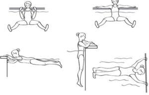 Комплекс упражнений в бассейне
