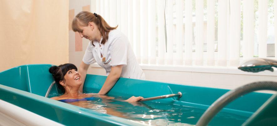 Польза лечебных ванн