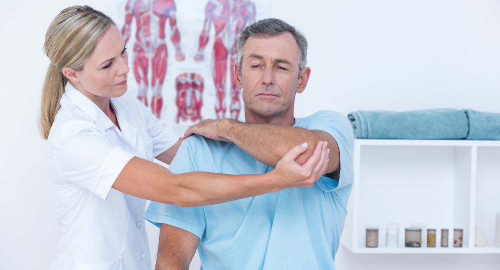 Диагностика боли в плечевом суставе при остеохондрозе