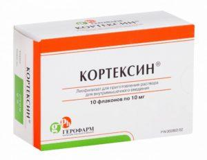Кортексин, препарат для улучшения кровообращения головного мозга