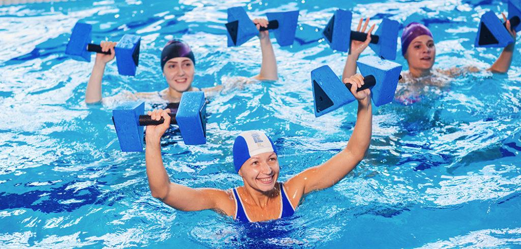 Комплекс упражнений в воде при остеохондрозе