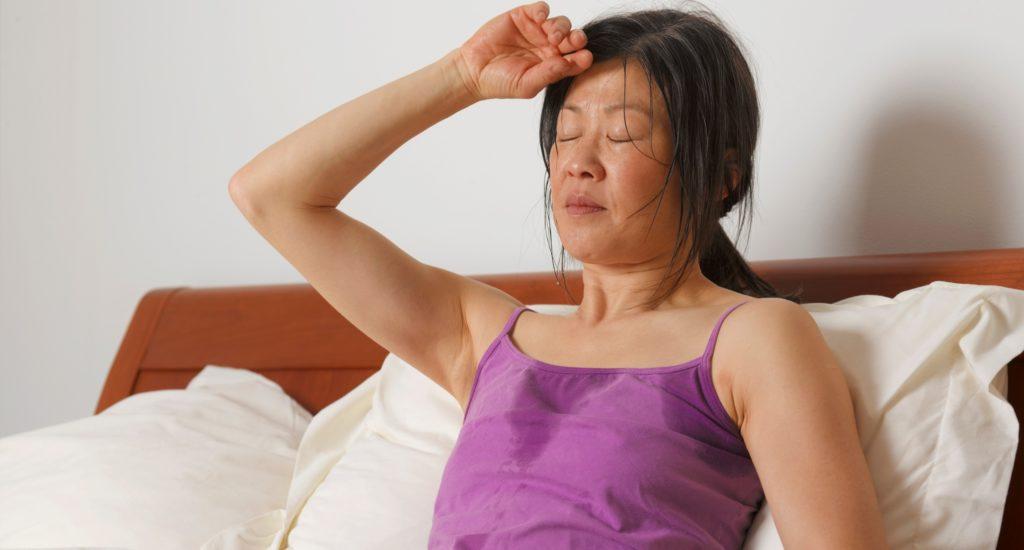 Обильное выделение пота при остеохондрозе