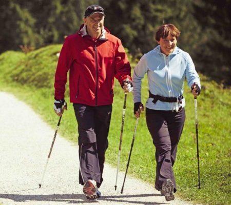 Скандинавская ходьба при остеохондрозе