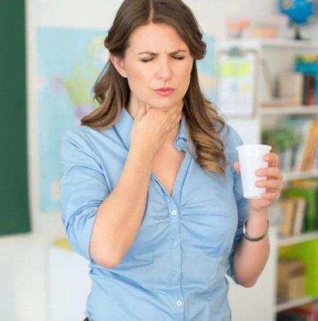Боль, спазм или ощущение кома в пищеводе при остеохондрозе