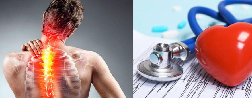 Возникновение аритмии при остеохондрозе
