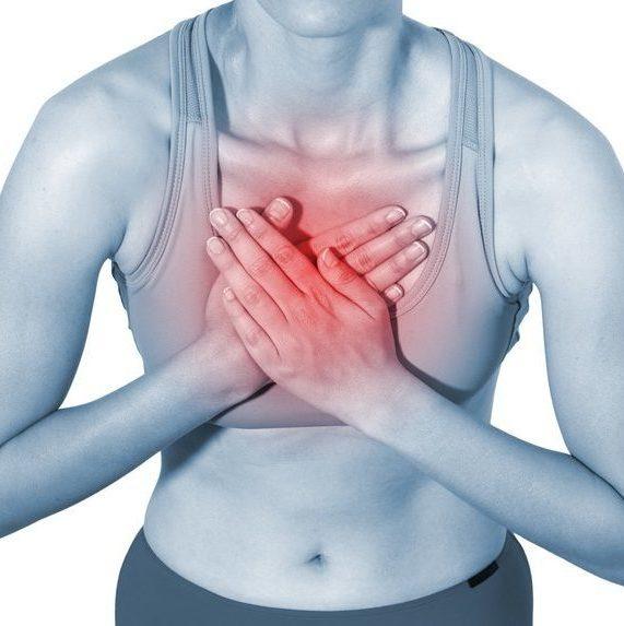 Боль в грудной клетке при грудном остеохондрозе
