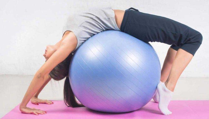 Преимущества упражнений на фитболе при остеохондрозе