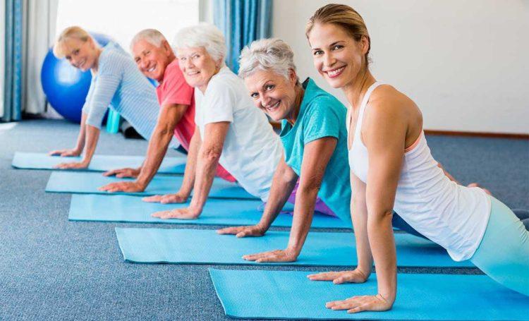 Лечебная гимнастика для пожилых