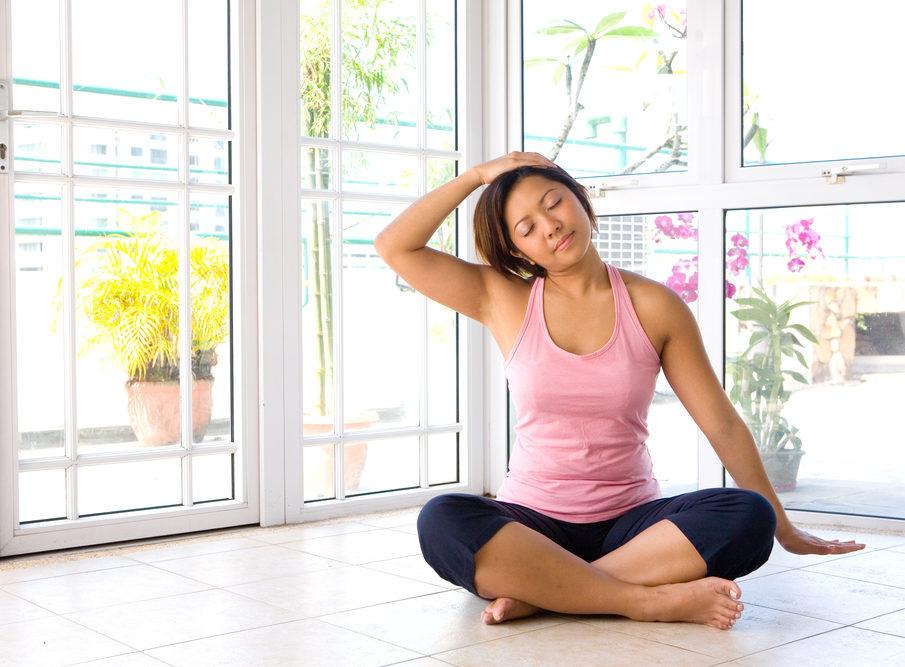 Упражнения на растяжку при шейном остеохондрозе