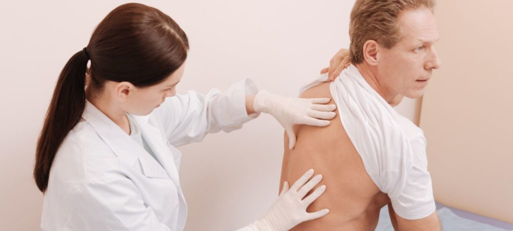 Боль в лопатке из за остеохондроза