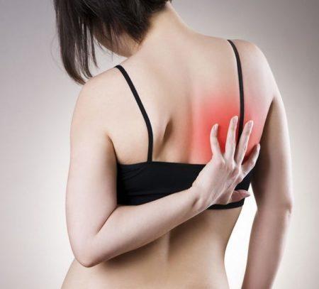 Боль в районе лопаток при остеохондрозе