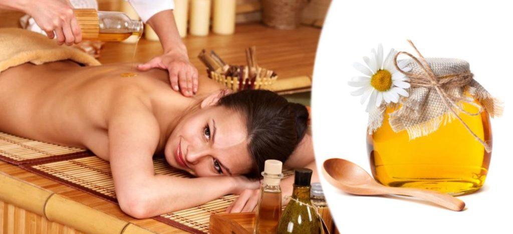 Техника массажа медом