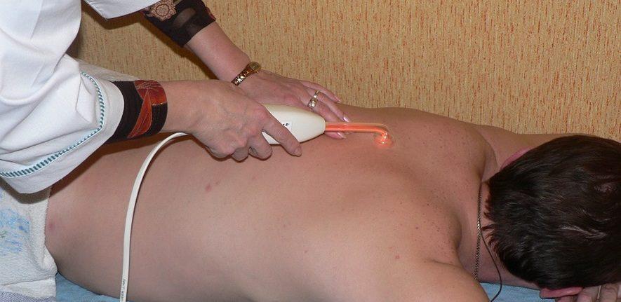 Применение дарсонваля при заболеваниях позвоночника