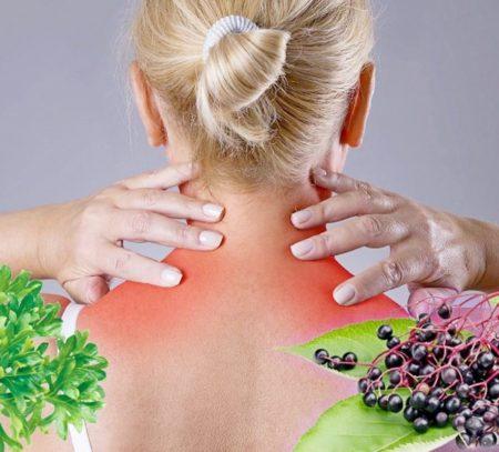 Лечение шейного остеохондроза народными рецептами