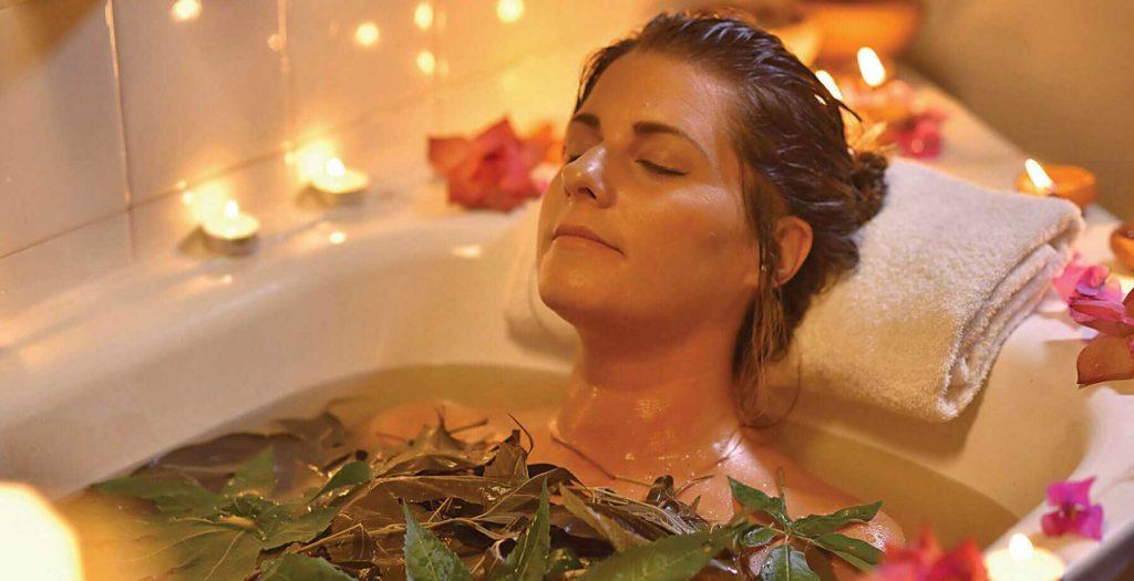 Лечебные ванные при остеохондрозе