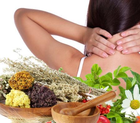 Лечение травами остеохондроза
