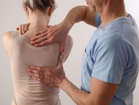 Остеохондроз грудного отдела позвоночника 1 степени