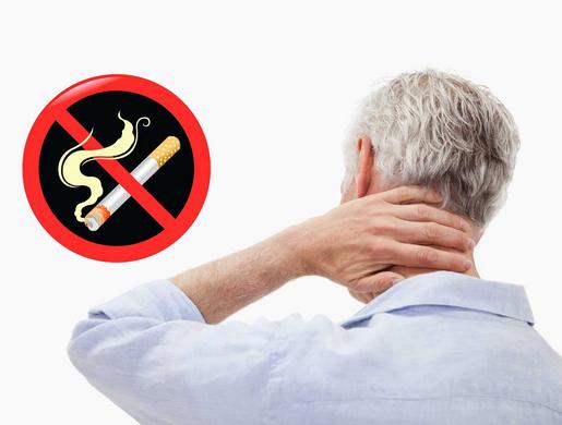 Курение при остеохондрозе: вред никотина для позвоночника
