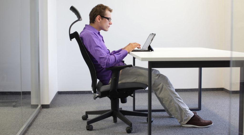 Компьютерное кресло для позвоночника