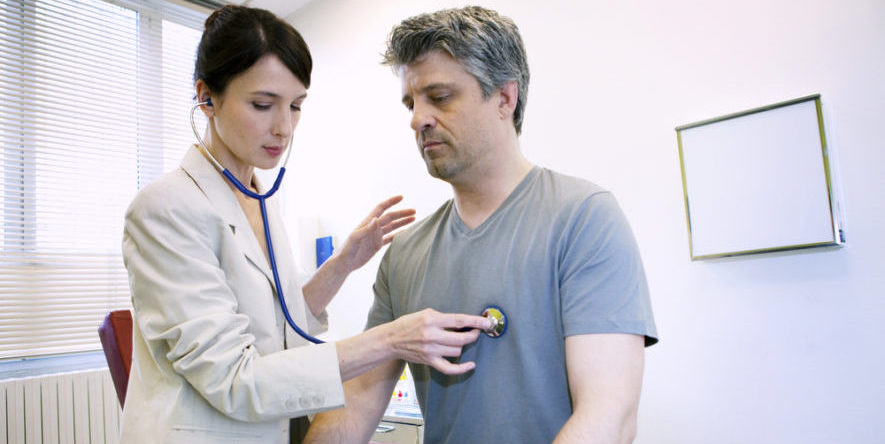 Посещение врача кардиолога
