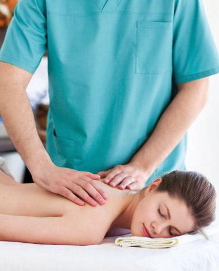 Массаж грудного отдела при остеохондрозе