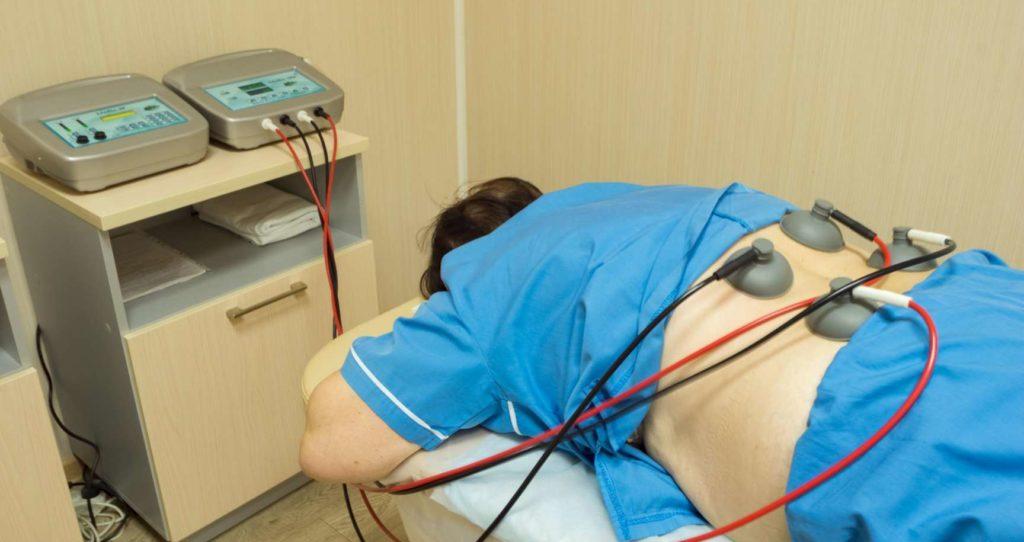 Физиолечение поясничного остеохондроза