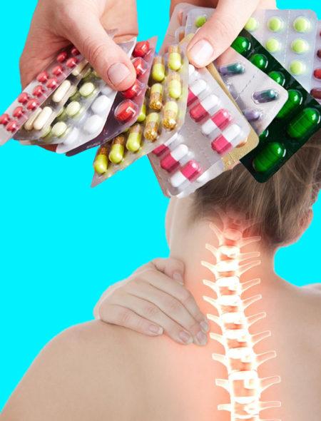 Какие лекарства применяют при остеохондрозе