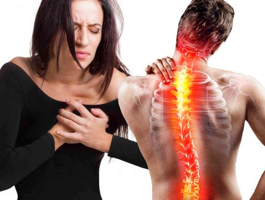 Боли при остеохондрозе грудного отдела позвоночника: характер болевых ощущений